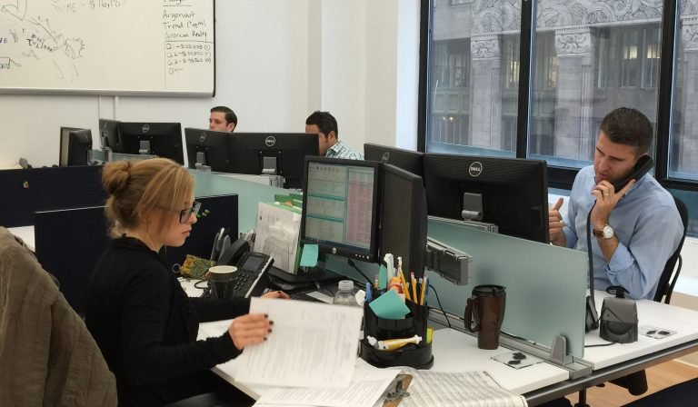 The Mission Staffing team at work